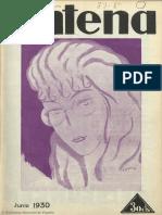 Antena (Madrid. 1928). 6-1930, n.º 25