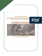 Informe de Topografia Caraponguillo