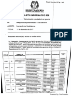 Listas inscritas (1)