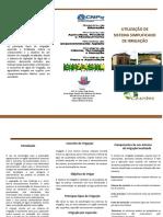 Oficina 4 (Utilização de Sistema Simplificado de Irrigação)