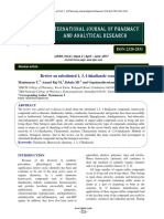 Review on Substituted 1, 3, 4 Thiadiazole Compounds