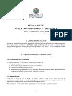 Regolamento Tasse 2017-2018