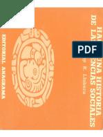 Hacia Una Historia Sobre Las Ciencias Sociales. Llobera, Jose