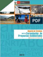 Glosario Terminos Ambientales MINAM 2012