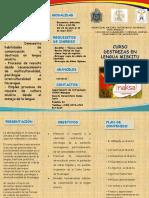 Unan Managua Brochure Miskitu