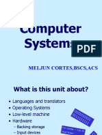 MELJUN CORTES's - Computer System Lecture