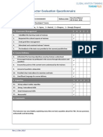 Instructor Evaluation Questionnaire v2.0