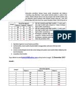 Soal Statistik IKL 2017A