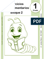 1er Grado - Bloque 2 - Ejercicios Complementarios