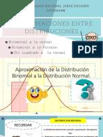 Aproximaciones Entre Distribuciones FINAL