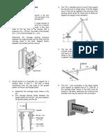 ES5 Mechanics of Materials SampleProblems Shear