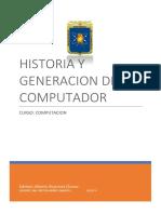Informe.historia y Generacion Del Computador