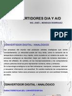 Convertidor AD y DA