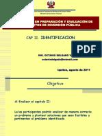 II. Identificacion