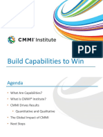 CMMI Benefits and Who Uses CMMI Presentation 2015