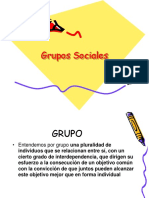 Grupos Sociales Ultimo