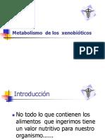Metabolismo de Los Xenobiticos