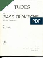 20 Etudes for Bass Trombone