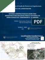 UCV Diapositivas Tesis- Doctoral- Pesantes - Tarma