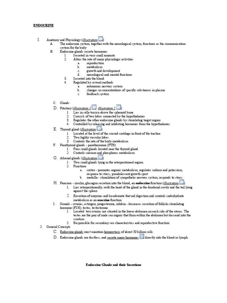 Nursing Lecture Endocrine | Thyroid | Diabetes Mellitus Type 2