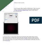 Como Criar o Efeito de Partículas Brilhantes Ao Redor de Uma Foto
