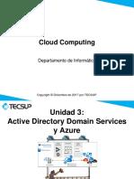 UNIDAD3 Azure and Active Directory