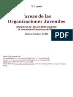 Tareas de las Organizaciones Juveniles. LENIN.docx
