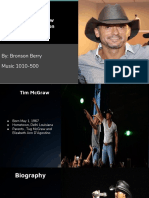 tim mcgraw  presentation