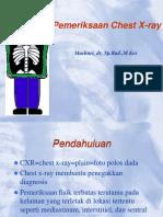 Chest X Ray Mashuri 2014