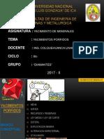 YACMIENTOS PORFIDICOS - EXPOSICION