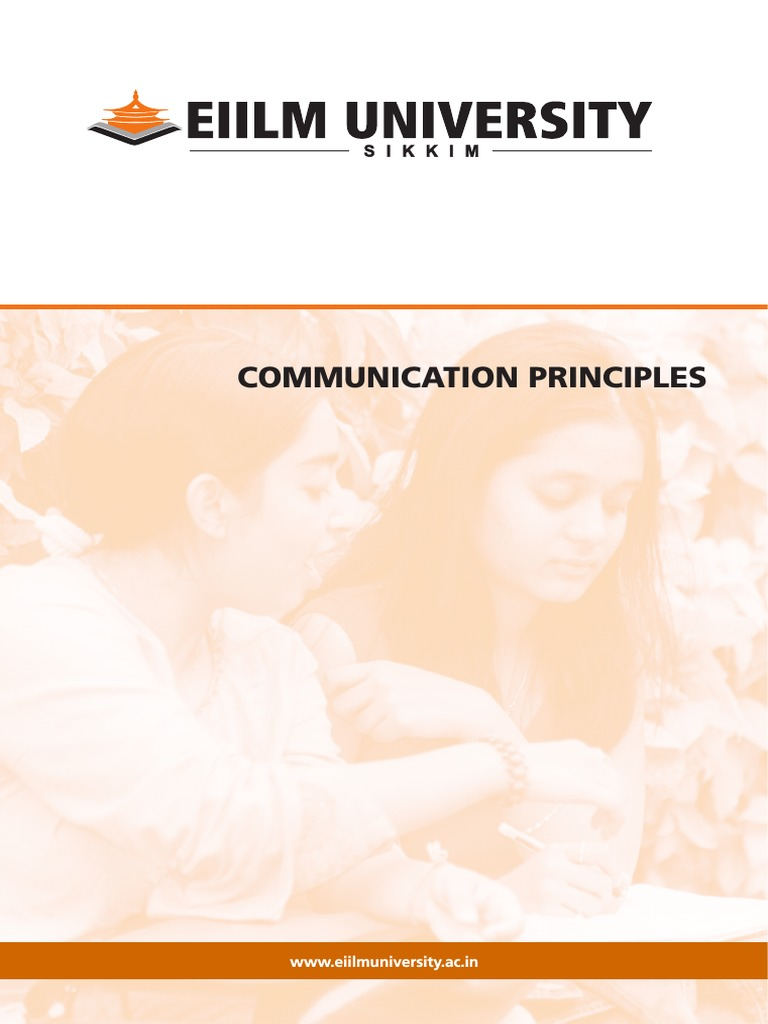 communication principlespdf nonverbal communication communication 1514641987v1 communication principles pdf appointment setter resume shikha chandra