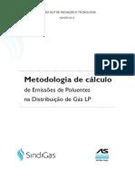Metodologia de Calculo de Emissoes de Poluentes Na Distribuicao de Gas Lp-meio Ambiente