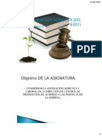 Legislacion Agricola (Lel 6301)