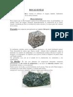 Rocas Igneas 2