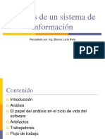 3. Análisis de Un Sistema de Información
