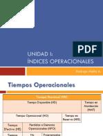 3. Índices Operacionales[133]