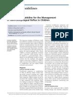 Academia Americana Guideline 2014 - DRGE