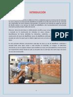 Informe de Estructuras