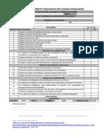 Lista de Cotejo de Cuaderno de Campo