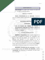 Sentencia  Juzgado Segundo de Distrito en Veracruz del Poder Judicial