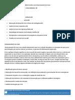 Organização Curricular Do Curso Em MBA Executivo Em Gerenciamento de Crises - GRADE CURRICULAR