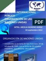 Onu y Derecho Internacional Publico