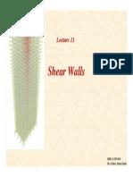 TB Lecture11 Shear Walls