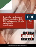 Desarrollo y pobreza en Mexico