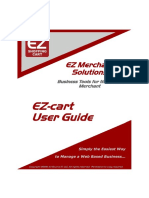 Ez-cart User Guide