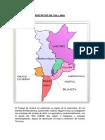 Distritos de Sullana