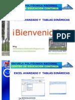 36649456 EXCEL AVANZADO y Tablas Dinamicas