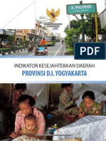 Indikator Kesejahteraan Daerah Provinsi DIY