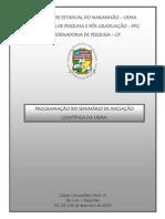 Programação XXI SEMIC