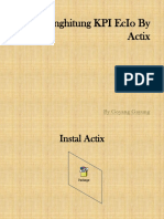 Cara Menghitung KPI EcIo by Actix